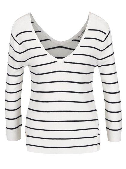 Bluză crem Miss Selfridge în dungi