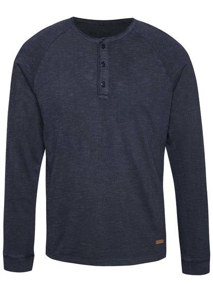 Bluză bleumarin Blend cu nasturi