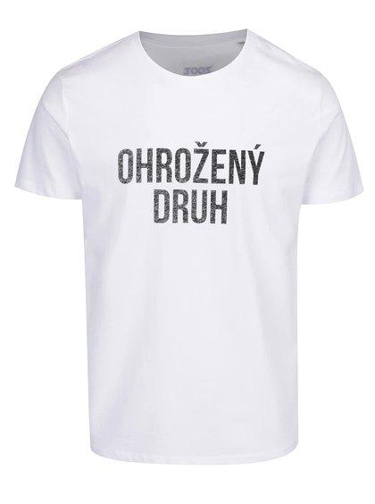 Bílé pánské triko ZOOT Originál Ohrožený druh