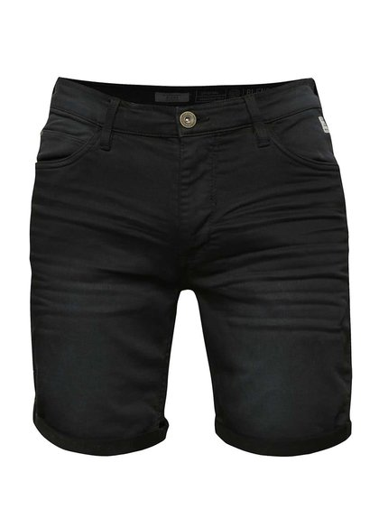 Černé džínové kraťasy Blend