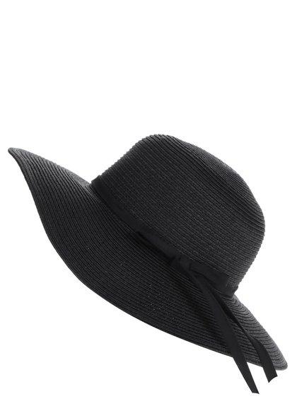 Pălărie neagră Pieces Lele cu fundă