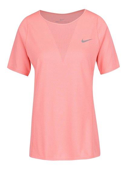 Tricou roz de antrenament pentru femei Nike Zonal Cooling Relay