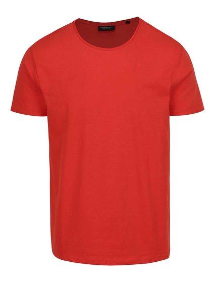 Tricou roșu basic Broadway Kirk din bumbac