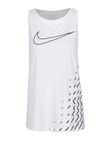 Maiou sport alb Nike Breathe