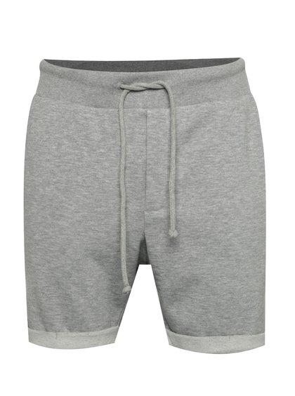 Pantaloni scurți gri Jack & Jones Boost din bumbac
