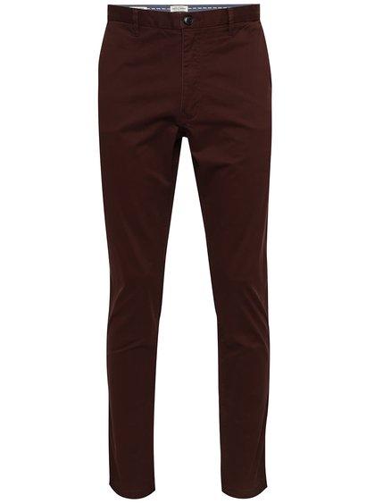 Pantaloni chino burgundy Jack & Jones Marco