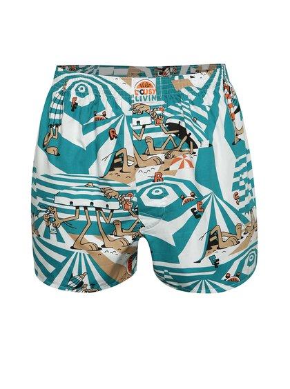 Boxeri multicolori Lousy Livin Beach Dazzle cu imprimeu