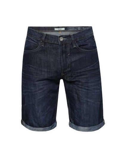 Pantaloni scurți bleumarin Blend din denim
