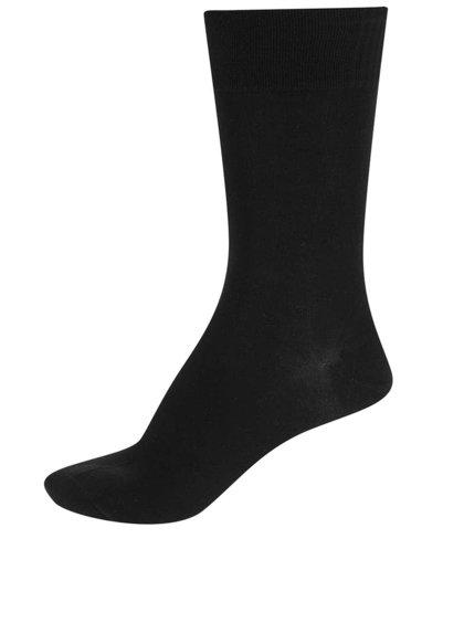 Černé pánské ponožky s lemem Bellinda Classic