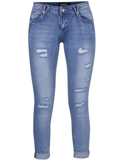Modré džíny s potrhaným efektem Haily's Isabella