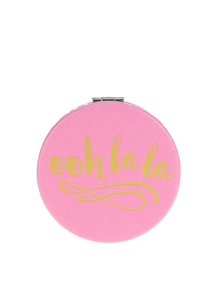 Růžové kompaktní zrcátko CGB ooh lala