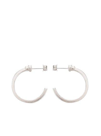 Stříbrné kruhové náušnice Pieces Jane