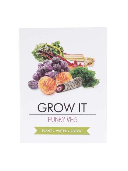 Set pro vypěstování barevné zeleniny Gift Republic Grow it