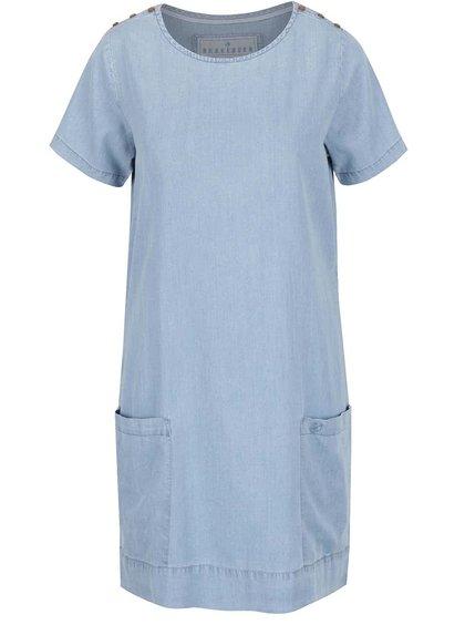 Rochie albastru deschis Brakeburn din denim