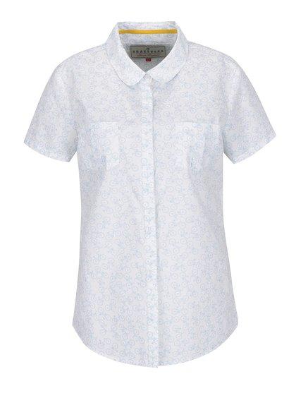 Bílá košile s potiskem kol Brakeburn