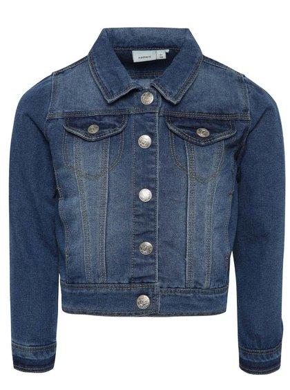 Jachetă albastră pentru băieți Name it Star din denim