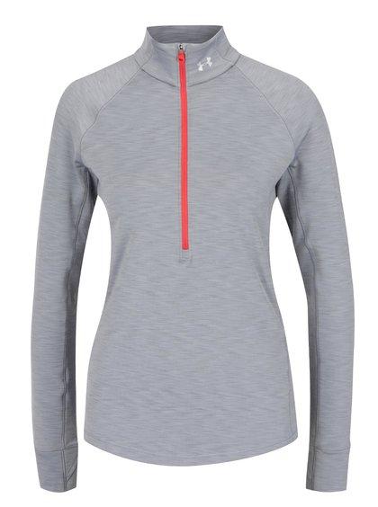 Bluză sport gri Under Armour Coldgear pentru femei