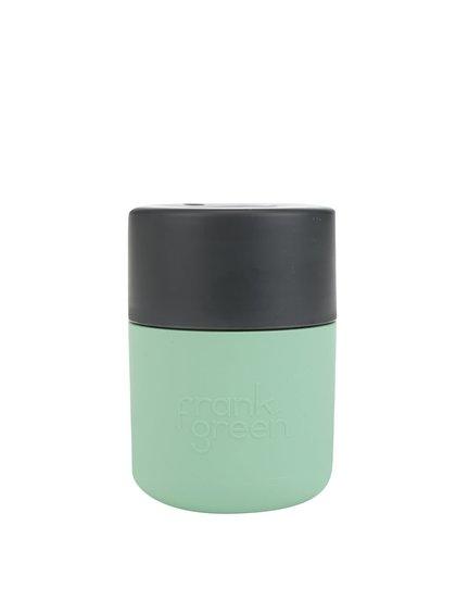 Zelený SmartCup s tmavě šedým víčkem Frank Green 230 ml