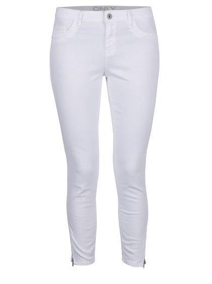 Bílé skinny džíny ONLY Kendell