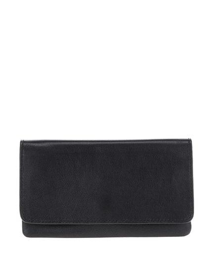 Černá unisex kožená peněženka Vagabond Pisa