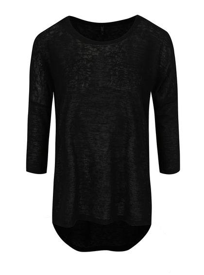 Bluză neagră ONLY Camilla cu mâneci medii