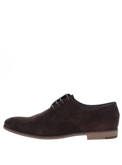 Pantofi maro Vagabond Linhope din piele