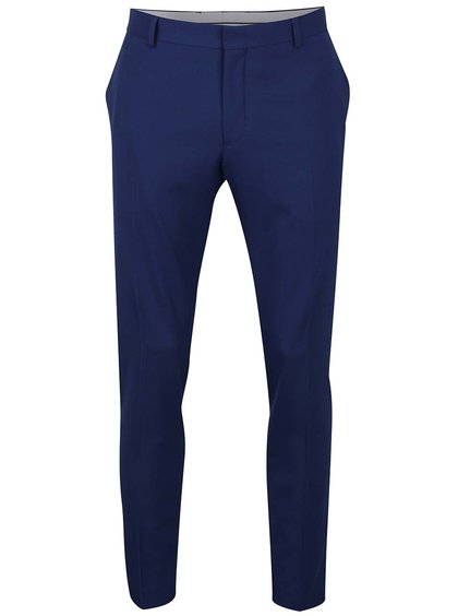Modré formální kalhoty Selected Homme Done-Summer