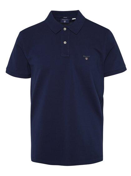 Tmavě modré pánské polo triko GANT Original Pique