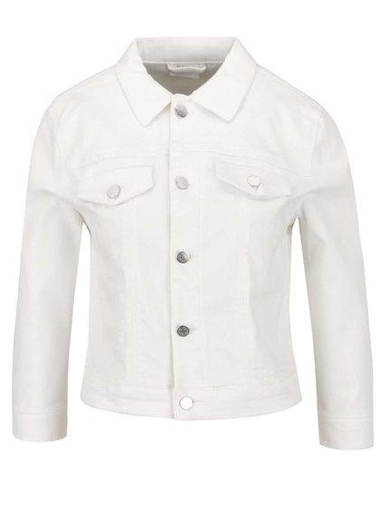 Jachetă crem VILA Birkin cu nasturi metalici
