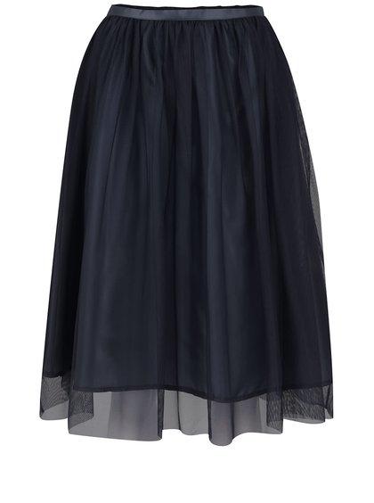 Tmavě modrá tylová sukně ZOOT