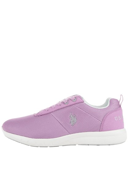 Pantofi sport violet U.S. Polo Assn. Rakel cu logo