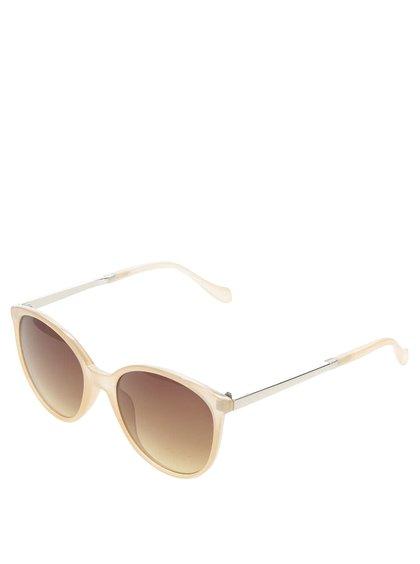 Světle růžové sluneční brýle VERO MODA Love