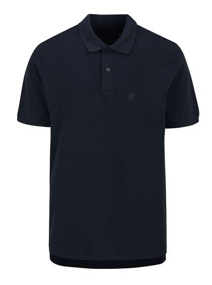 Tricou polo bleumarin JP 1880 cu șlițuri laterale