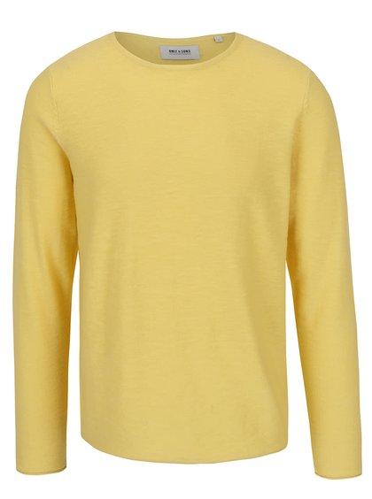 Žlutý svetr ONLY & SONS Paldin