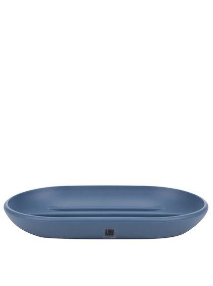 Modrá miska na mýdlo Umbra Touch
