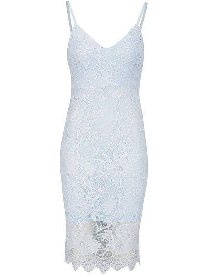 Rochie albastru deschis Ax Paris din dantelă