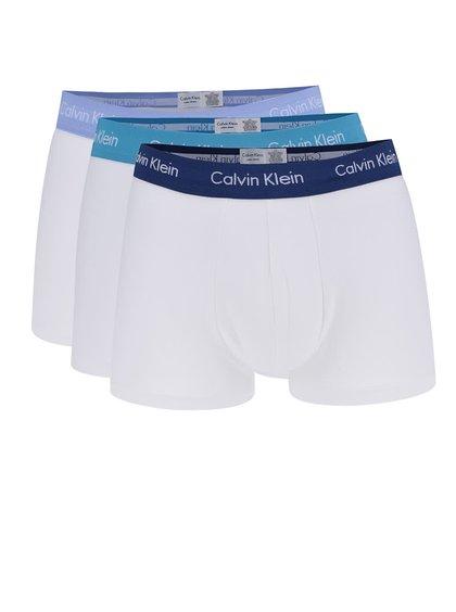 Sada tří boxerek v bílé barvě Calvin Klein