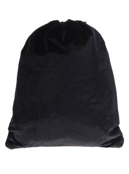 Černý unisex sametový vak Mi-Pac Velvet