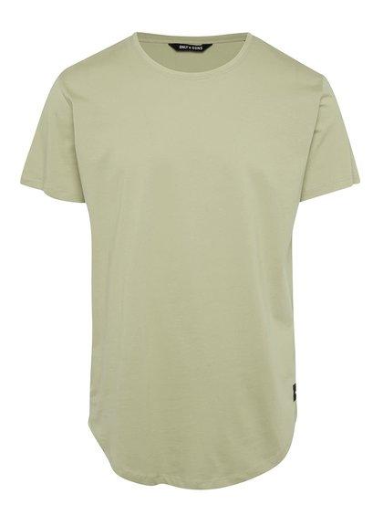 Světle zelené basic triko Only & Sons Matt