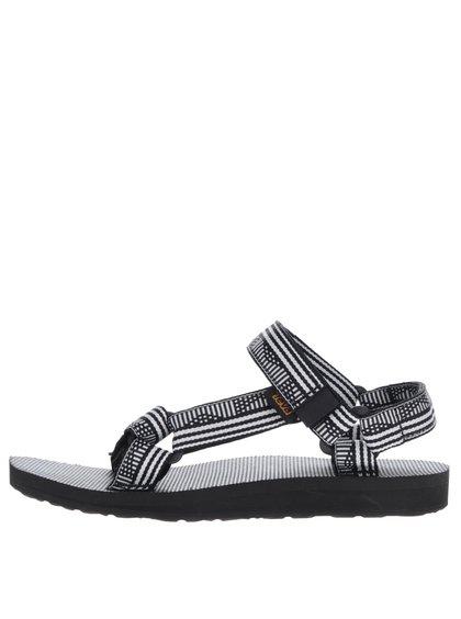 Bílo-černé vzorované dámské sandály Teva