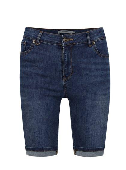 Tmavě modré džínové kraťasy VERO MODA Seven