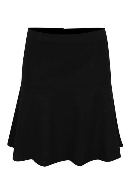 Černá áčková sukně VILA Riasta