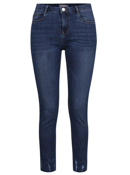 Tmavě modré skinny džíny s detaily Dorothy Perkins