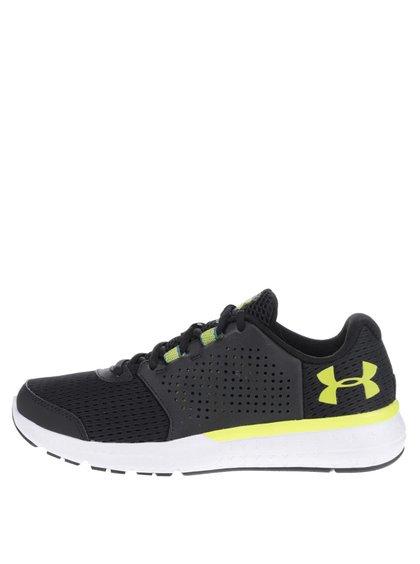 Žluto-černé pánské tenisky Under Armour UA Micro G Fuel RN