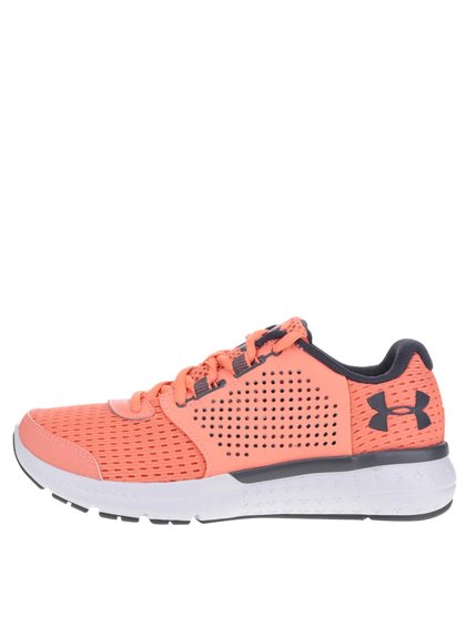Oranžové dámské kožené tenisky Under Armour UA W Micro G Fuel RN