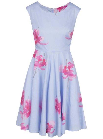 Rochie bleu  cu imprimeu floral Tom Joule Amelie