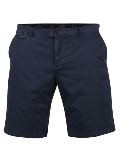 Pantaloni chino scurți albaștri JP 1880 cu talie elastică