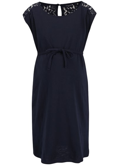 Tmavě modré těhotenské šaty Mama.licious New Aletta