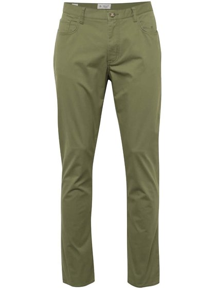 Zelené slim kalhoty Original Penguin P55