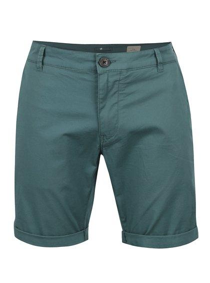 Pantaloni scurți verzi Selected Homme Paris